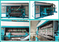 Waste Paper Pulp Molding Euipment Rotary Egg Tray / Egg Box Machine
