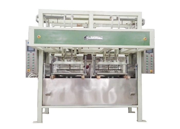 Energy Saving Auto Egg Tray Machinery 2800Pcs / H Pulp Molded Machine