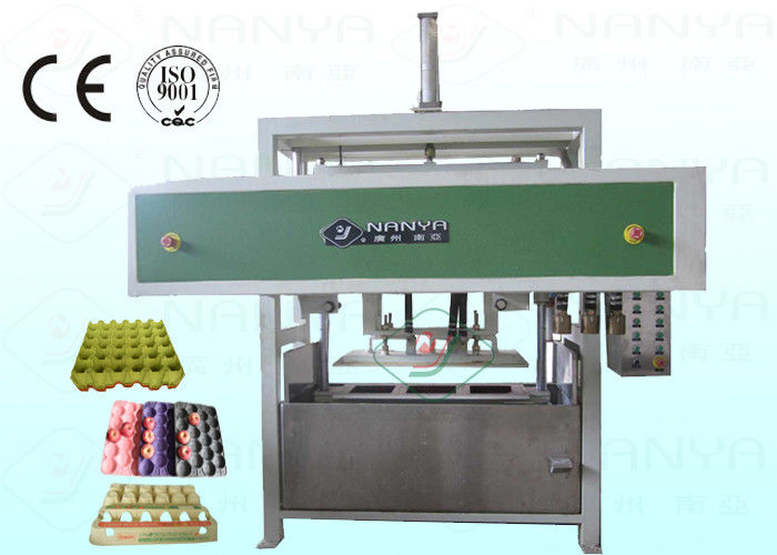 Safe Fruit Paper Tray Making Machine Semi Automatic 1200Pcs / H