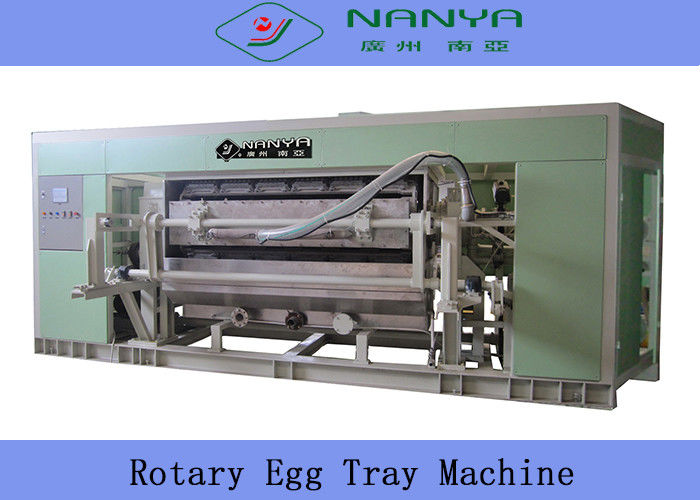 Eco Moulded Pulp Paper Egg Tray Machine with 6 Layers Dryer 220 V - 450 V