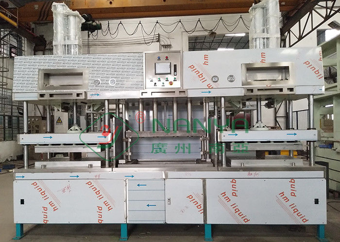 Disposable Manually Paper Pulp Molding Machine For Paper Tableware / Paper Plate