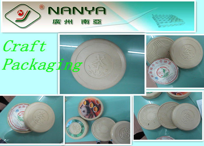 Environmently- friendly Paper Pulp Molded Industrial / Craft Packaging