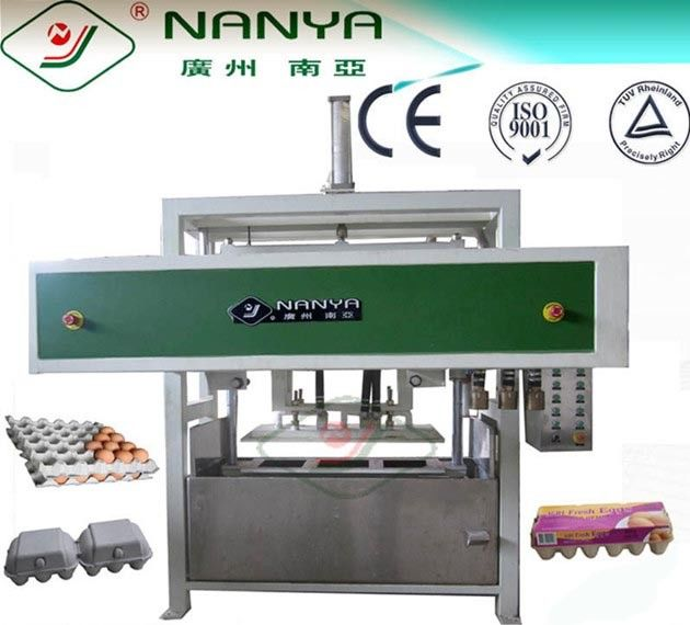 Waste Paper Pulp Tray Machine 2000Pcs/H , Professional Egg Tray Manufacturing Machine