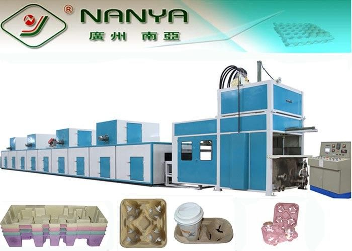 Energy Saving Automatically Molded Pulp Machine for Inner Industrial Packaging