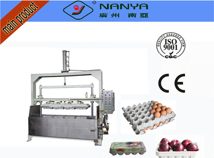 800Pcs/H Semi-auto Reciprocating Forming Waste Paper Egg Tray Equipment